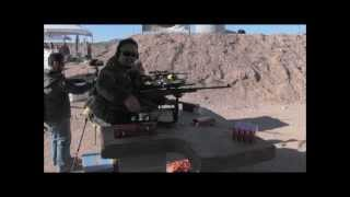 "Team A.W.S. - Shot Show 2012 - Media Day At The Range - ""Gun Music"""