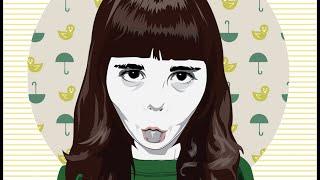 Speed Illustration - Little Girl
