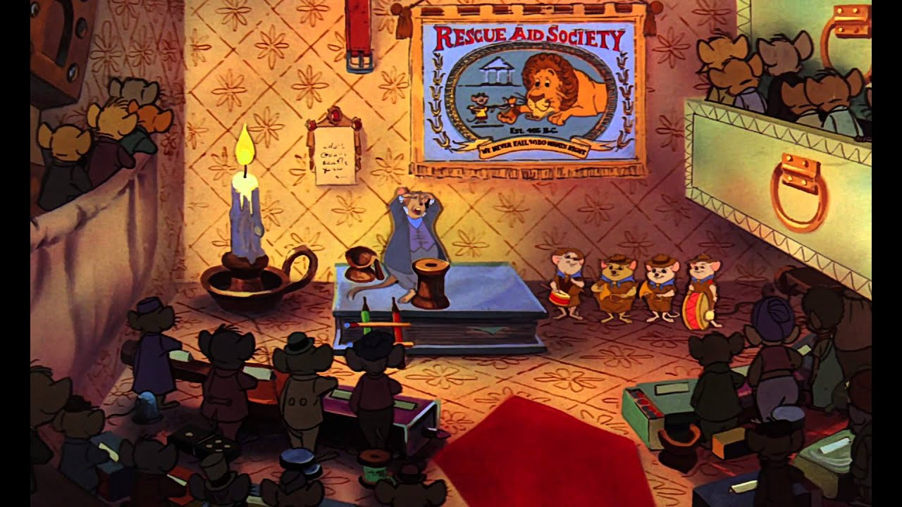Download The Rescuers (1977) - Rescuers Aid Society