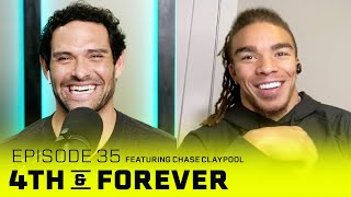 Chase Claypool   Ep. 35   Rookie Season, Playoff Loss to Browns, Super Bowl Preview   4th & FOREVER