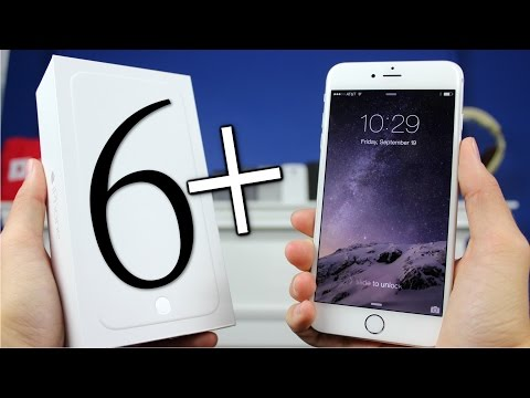 Apple iPhone 6 Plus Unboxing! (Silver 128GB)