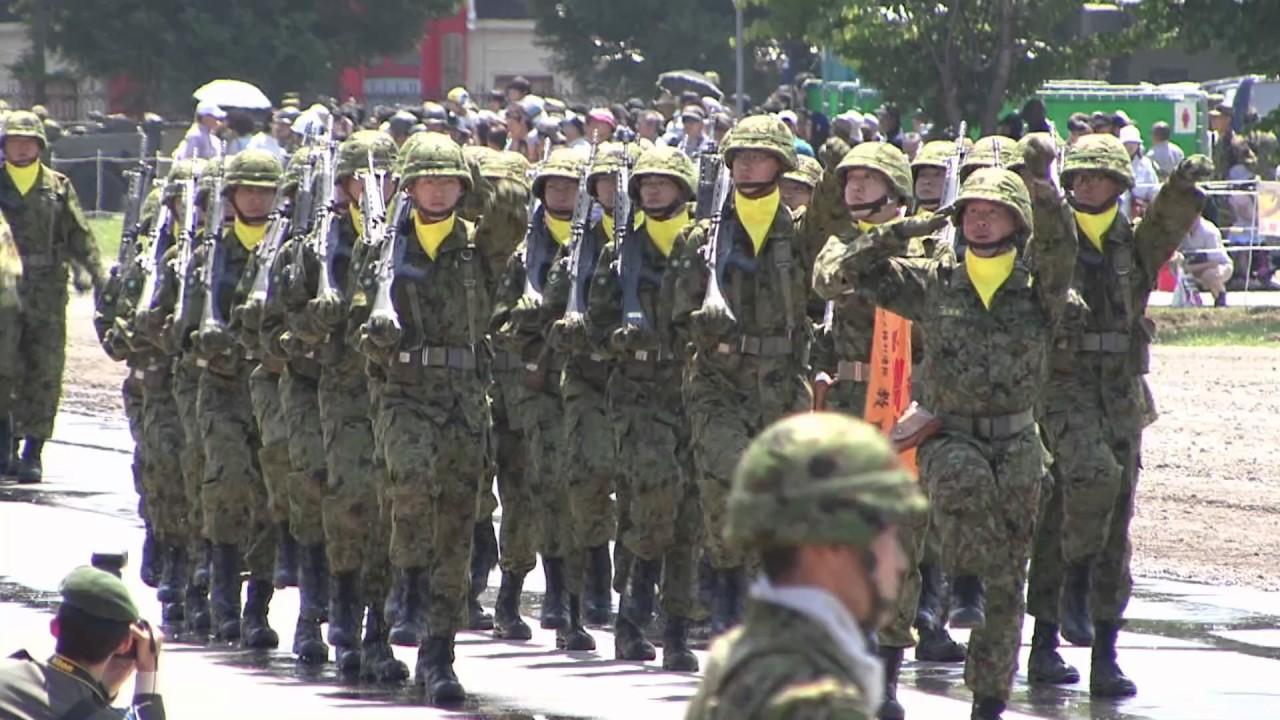 陸上自衛隊第2師団 創立記念67周...