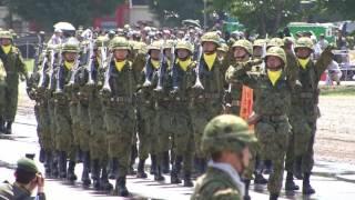 陸上自衛隊第2師団 創立記念67周年