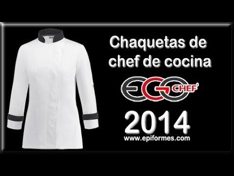 Firma De Youtube Egochef Chaquetas Chef 2014 La Cocina EIW2DH9