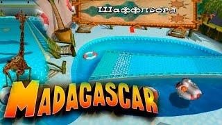 Дополнительные игры Мадагаскар 2 Шаффлборд