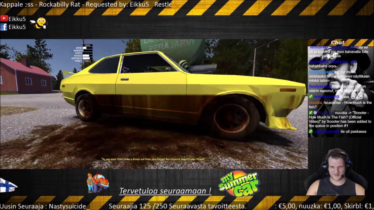 My Summer Car Turo Ja Kyla Jani R I P Youtube