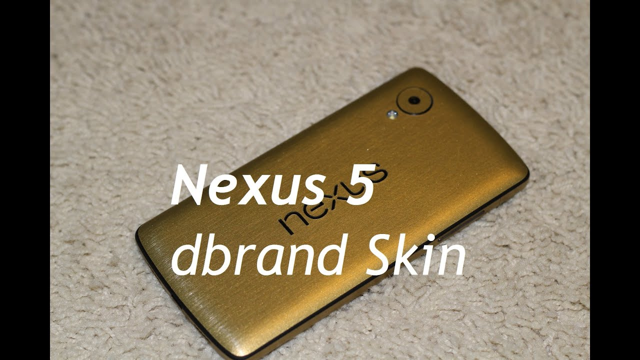 how to put on dbrand skin