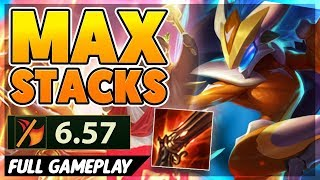 *MAX RANGE* 2+ KILLS A MINUTE (6.57 ATTACK SPEED) - BunnyFuFuu Full Gameplay