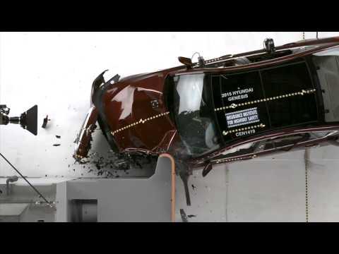 Hyundai Genesis 2015 c  nh gi l xe c  an to n cao ttvn vn