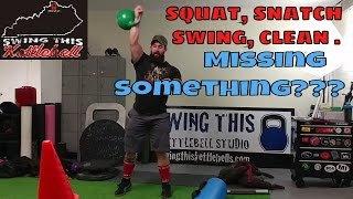 Kettlebell Swing, Clean, Snatch and Squat just wont cut it when it comes to Balanced Leg Development