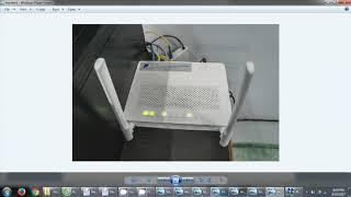 Hướng dẫn cài đặt cấu hình modem WIFI HuaWei HT8045A - VNPT HCM