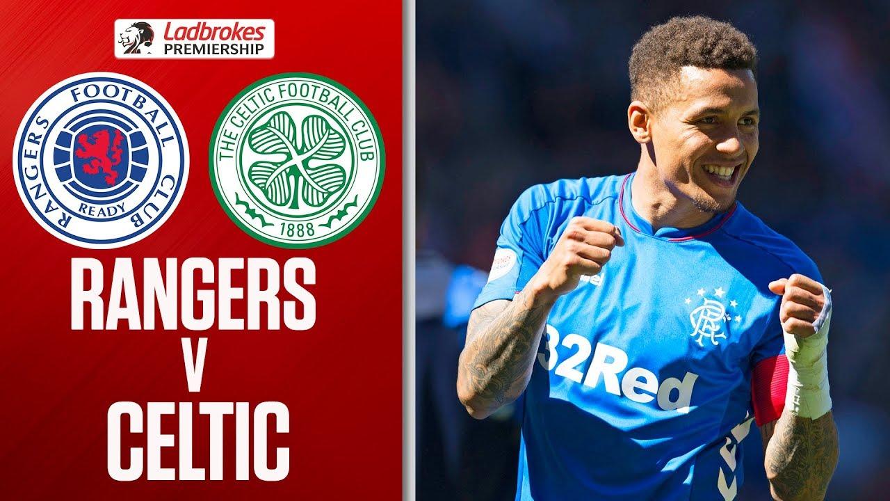 Rangers 2-0 Celtic   Tavernier and Arfield Score in Dominant Derby Display!   Ladbrokes Premiership image