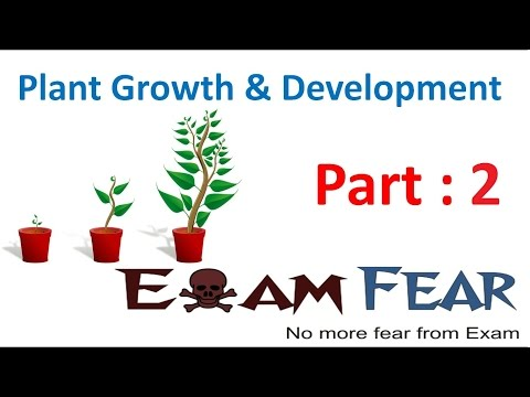 Biology Plant Growth & Development part 2 (Determinate & indeterminate growth) CBSE class 11 XI