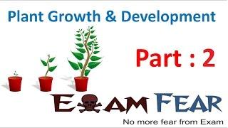 Biology Plant Growth & Development part 2 (Determinate & indeterminate growth) CBSE class 11 XI