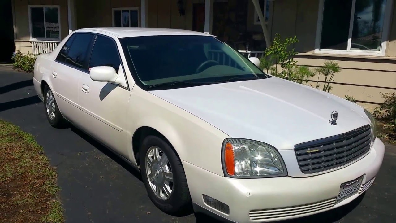 2005 cadillac deville for sale 103 000 miles clean title review and tour youtube. Black Bedroom Furniture Sets. Home Design Ideas