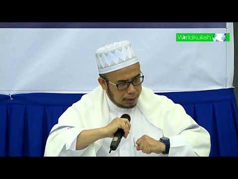 SS Dato Dr Asri-Bgmn Utk Tahu Sesuatu Amalan Itu Diterima