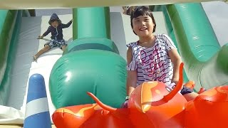 ラグナシア ビーチパーク プール & アスレッチ で遊んだよ♫ LAGUNA Beach Park Pool & Asuretchi thumbnail