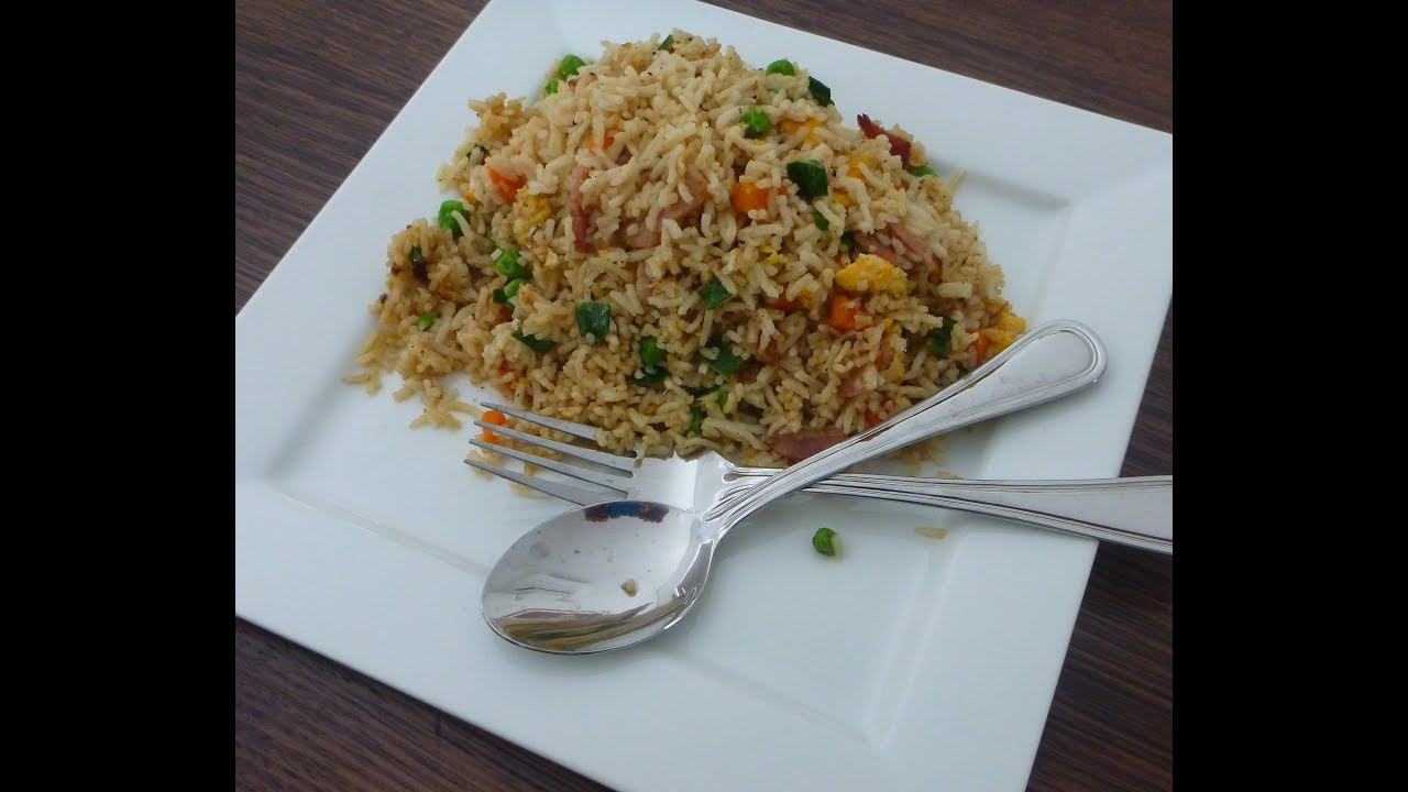 Easiest Fried Rice Recipe Ever Chinese style. - YouTube