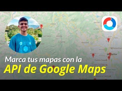Marca tus mapas con la API de Google Maps