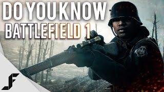 Do You Know Battlefield 1?