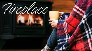 Christmas Jazz Music & Fireplace - Smooth Fireplace JAZZ  For Winter Mood