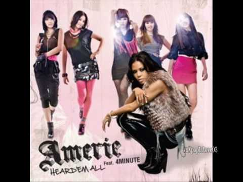 [Audio+DL] Heard 'Em All - Amerie ft. 4 Minute and Junhyung (Beast)