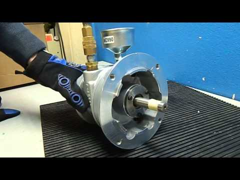 Gast 6AM-NRV-11A Air Motor Demo