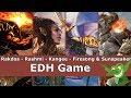 Rakdos vs Rashmi vs Kangee vs Firesong & Sunspeaker EDH / CMDR game play for Magic: The Gathering