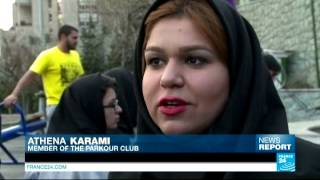 Iran: meet the women of Iran's Parkour club, jumping and rising over stereotypes