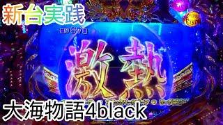 新台実践 大海物語4black ブラック ブラックパールゾーン 美しい