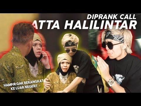 MOMMY NANGIS! PANIK DIPRANK CALL ATTA HALILINTAR