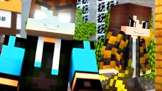 Best of Hacker Songs: Hacker 1- 4 (Top Minecraft Songs)