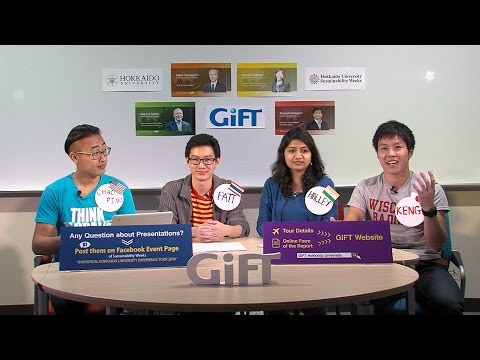 GiFT2015 -Global Issues Forum for Tomorrow-