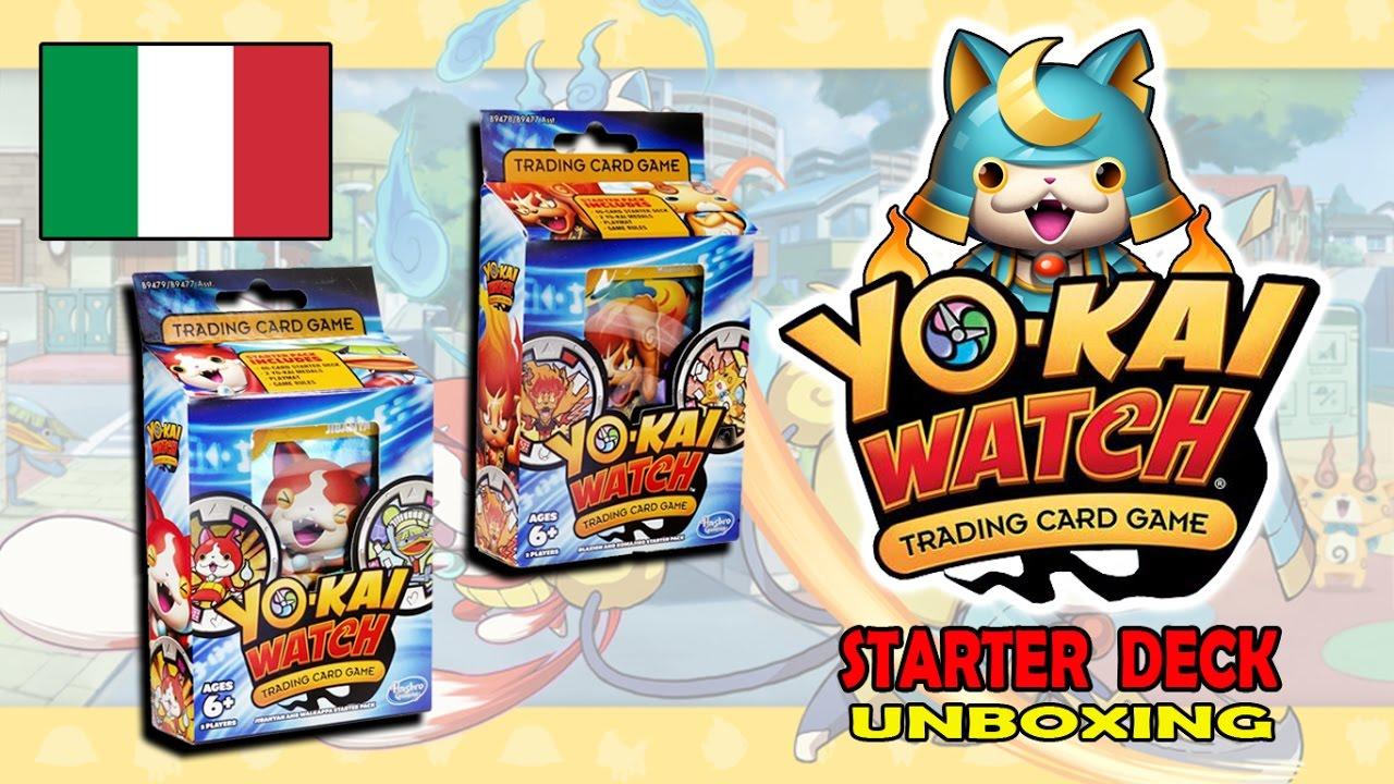 carte yo kai watch YO KAI WATCH TCG gioco di carte collezionabili   Starter Deck