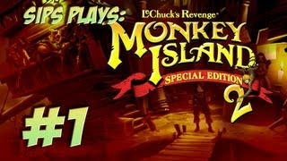 Sips Plays Monkey Island 2 (Special Edition) - Part 1