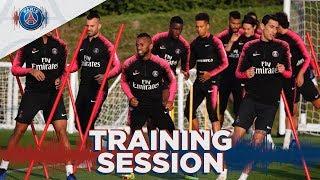 15 minutes d'entraînement avant Paris Saint-Germain - Lille LOSC
