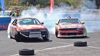SUPER D COMPETITION BATTLES - Crashing the JZX100...