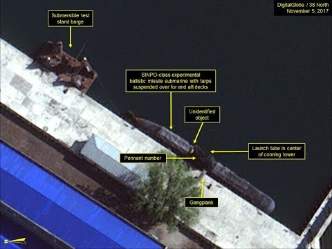 NORTH KOREA ACCELERATES ITS BALLISTIC MISSILE SUBMARINES PROGRAM-ROMEO CLASS SSK-SINPO C SSK- KN-11