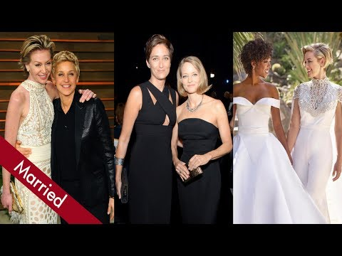 Top 10 Lesbian Couples in Hollywood Who Got Married thumbnail