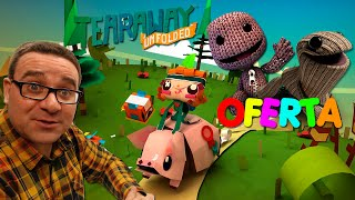 UNBOXING TEARAWAY MEDIA PRESS KIT | OFERTA GAMINGREPLAY