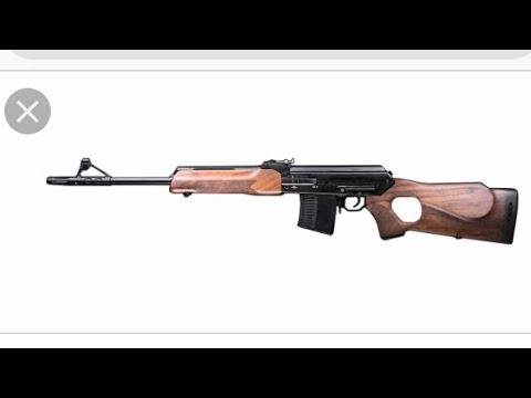 ВПО 123, 7,62x54 первые выстрелы, пристрелка
