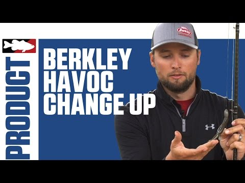 "Berkley Havoc Change Up 4.5"" with Justin Lucas on Lake Guntersville"