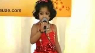 pooja singing, thumbi vaa thumba kudathil....