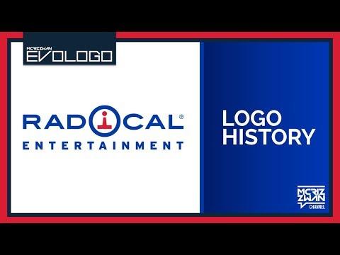 Radical Entertainment Logo History | Evologo [Evolution of Logo]