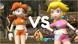 Super Mario Strikers - Daisy vs Peach - GameCube Gameplay (720p60fps)