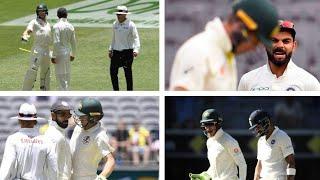 Virat Kohli vs Tim Paine (Banter, Sledging & fight) | IndvsAus, 2nd Test, Day 4 - Twitter HIGHLIGHT