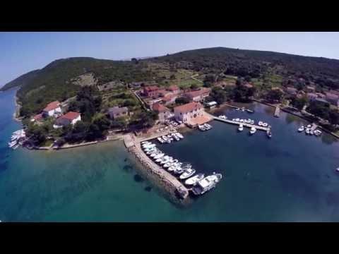 Ilovik   Hrvatska iz zraka   Adriatic Sea   Hrvatska   Croatia   4K   Aerial video