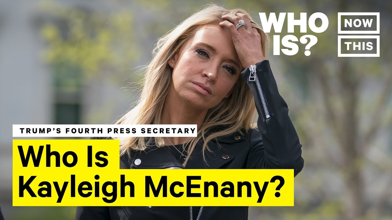 Who Is Kayleigh Mcenany Nowthis Youtube