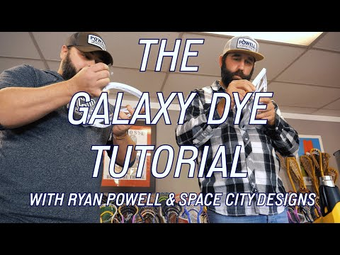 How To Dye A Lacrosse Head With Ryan Powell & Space City Designs