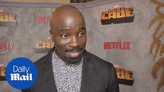 Luke Cage stars appear on Red Carpet for season 2 premiere - Daily Mail